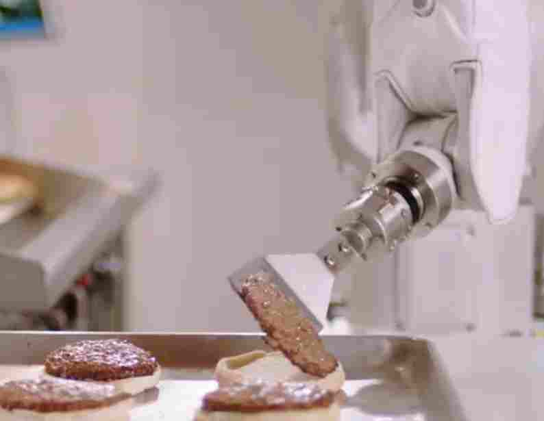 Short of Workers, Fast-Food Restaurant Turn to Robots
