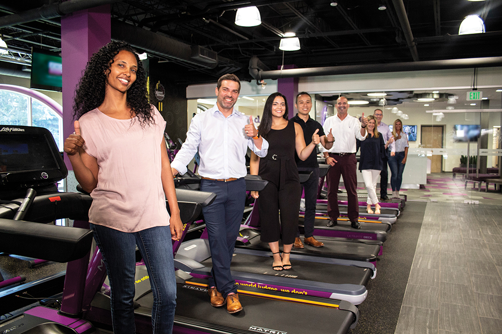 #16 Best Company to Work For: Planet Fitness World Headquarters