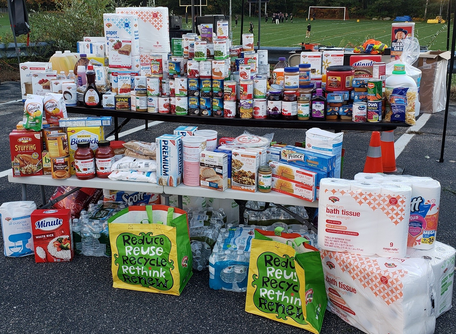 Anonymous Donor Delivers $100,000 to NH Food Bank
