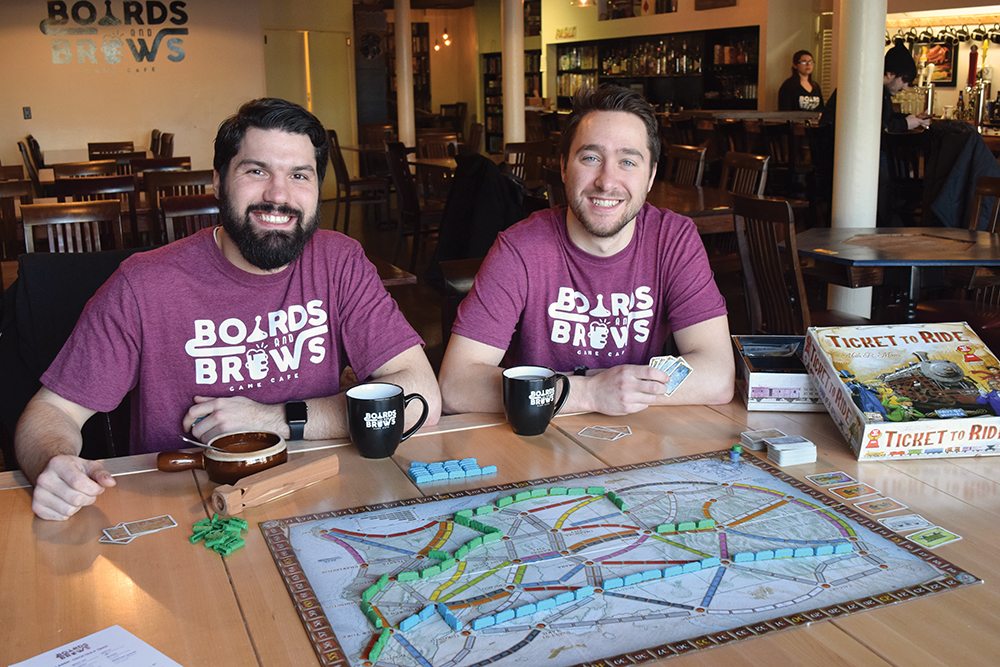 Boards & Brews Creates a Winning Strategy