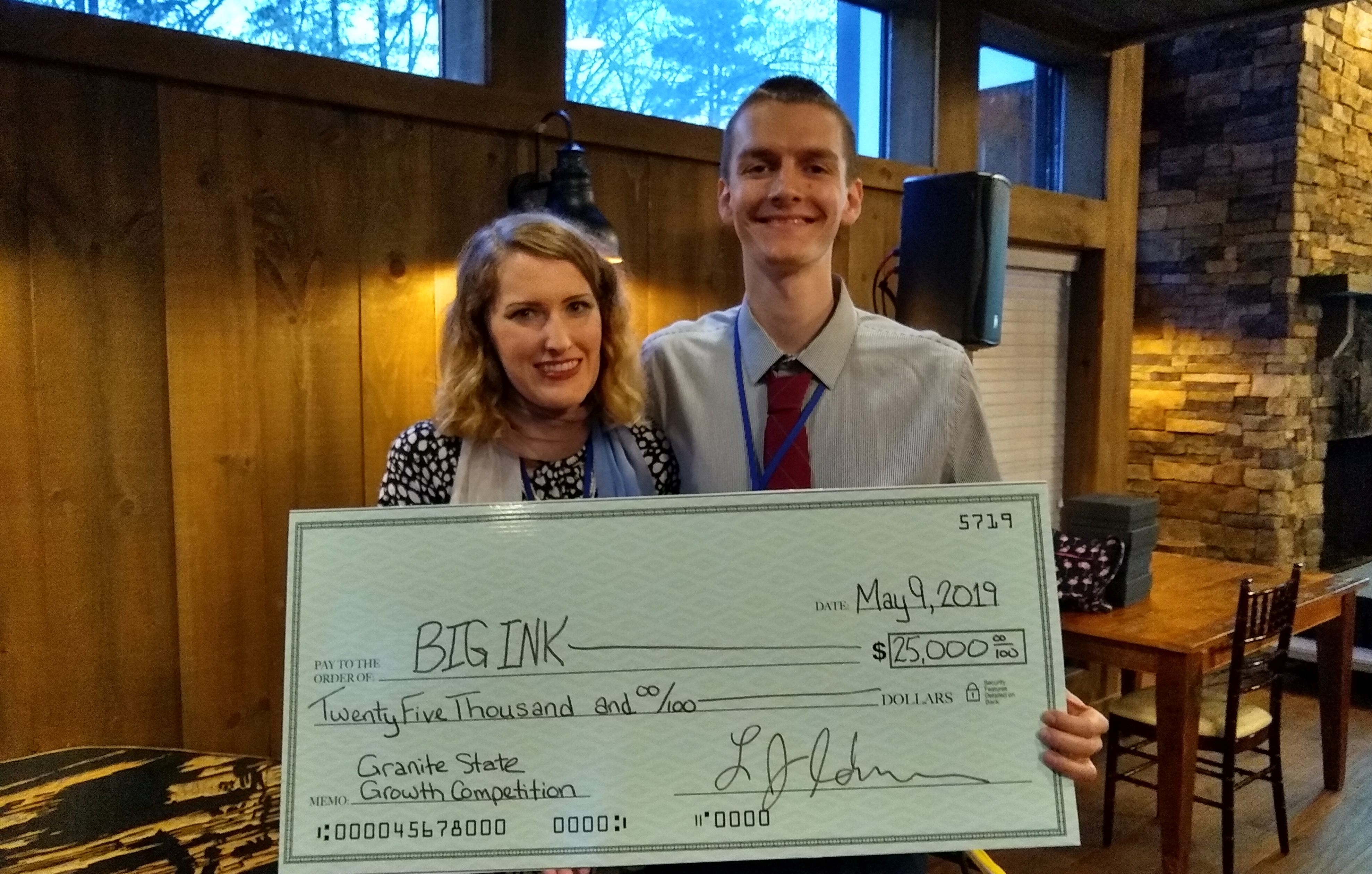 BIG INK Wins Granite State Growth Competition