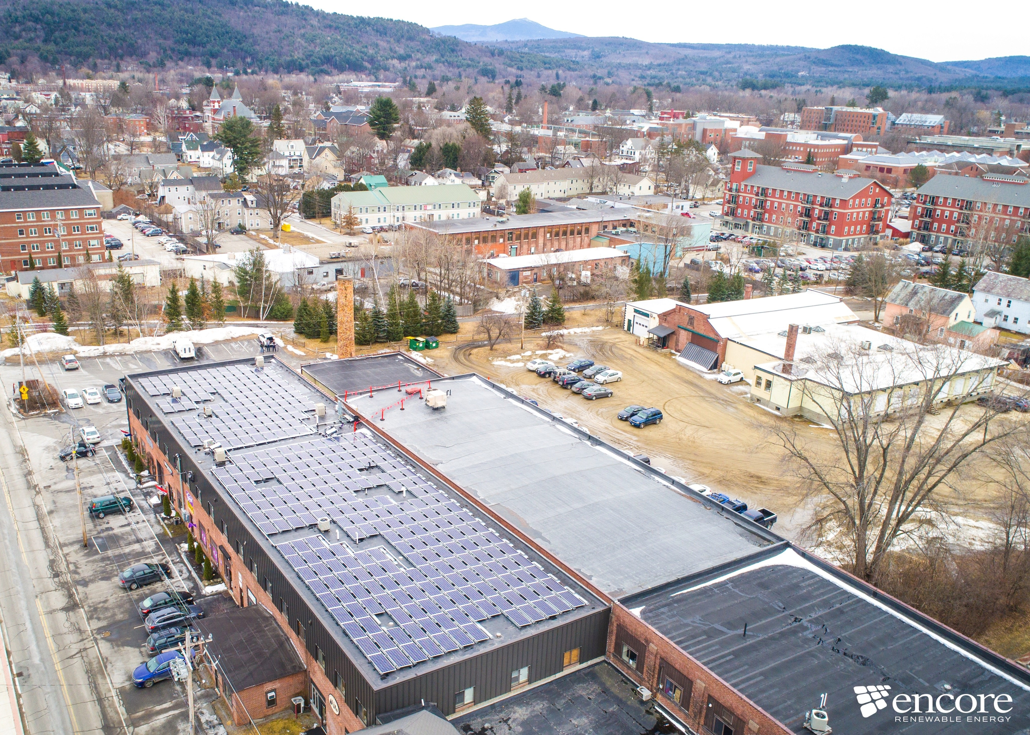 Silk Mill Solar Array in Keene is Live