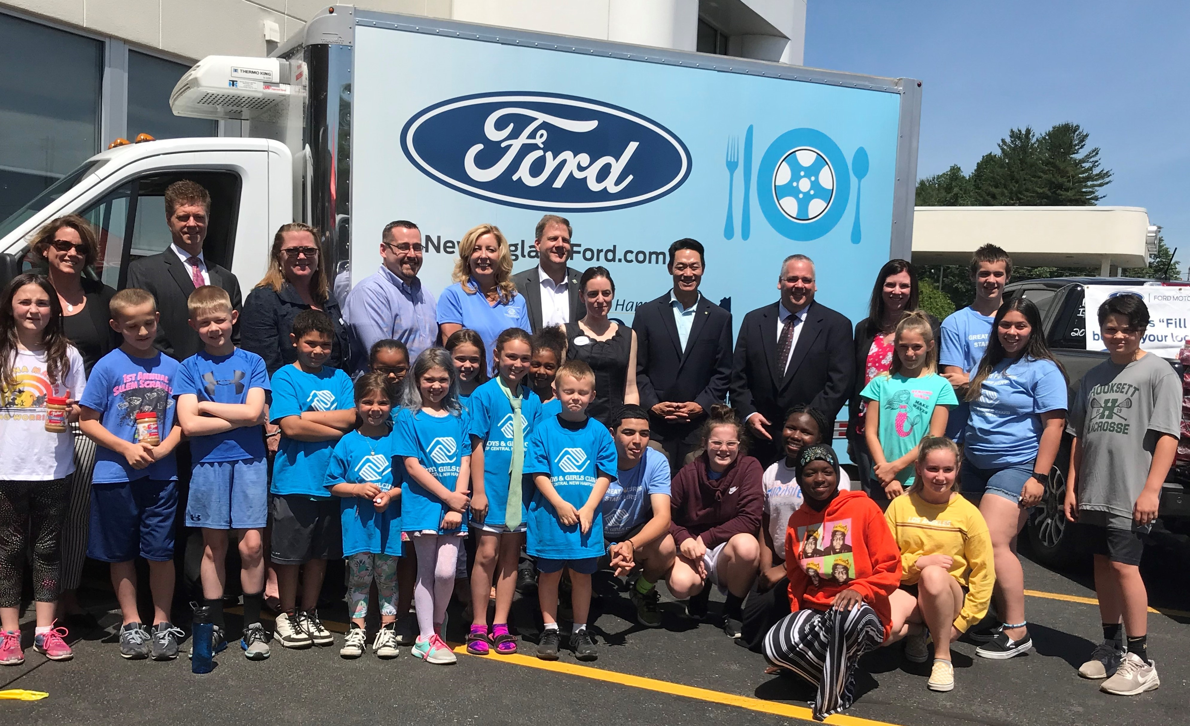 Ford and Grappone Launch Peanut Butter Drive