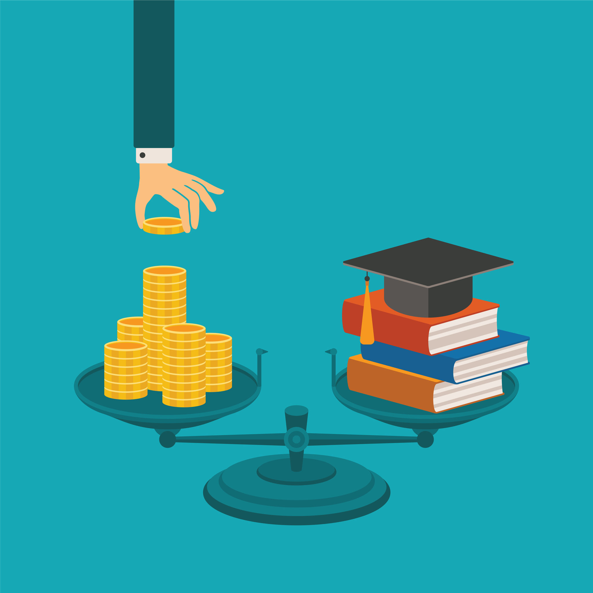 2-Year Degree Holders Financially Vulnerable