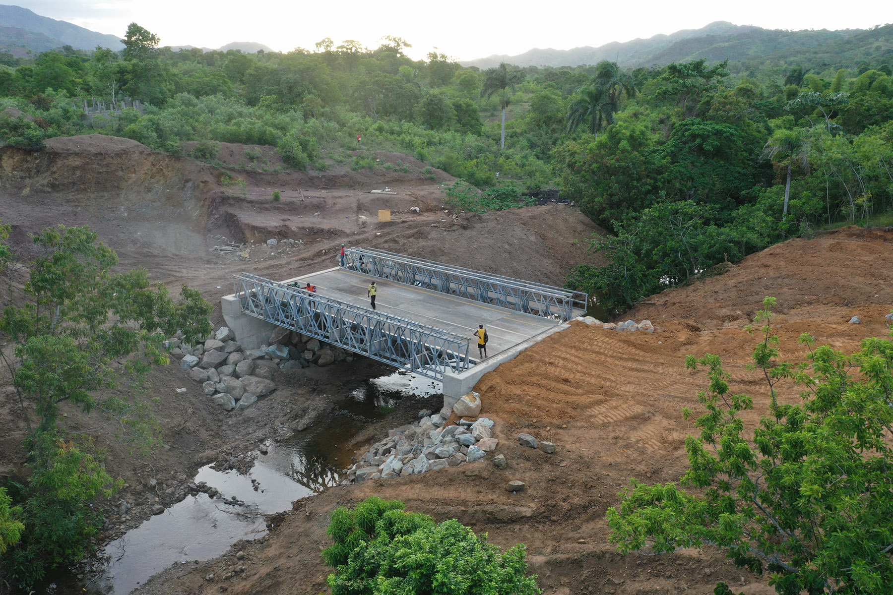 Tighe & Bond Partner with Foundation for Bridge in Haiti