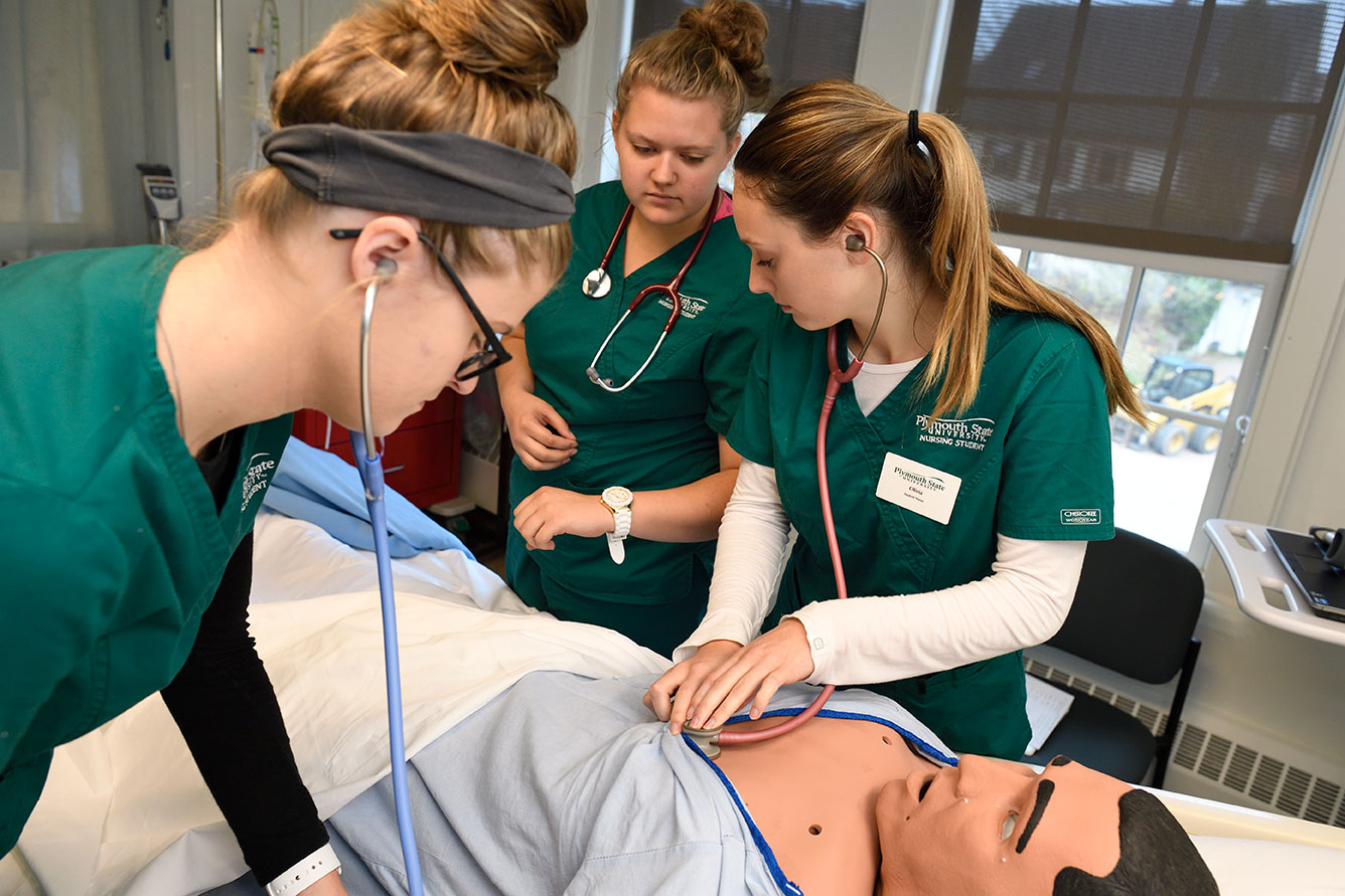 Plymouth Nursing Students Join the Front Lines
