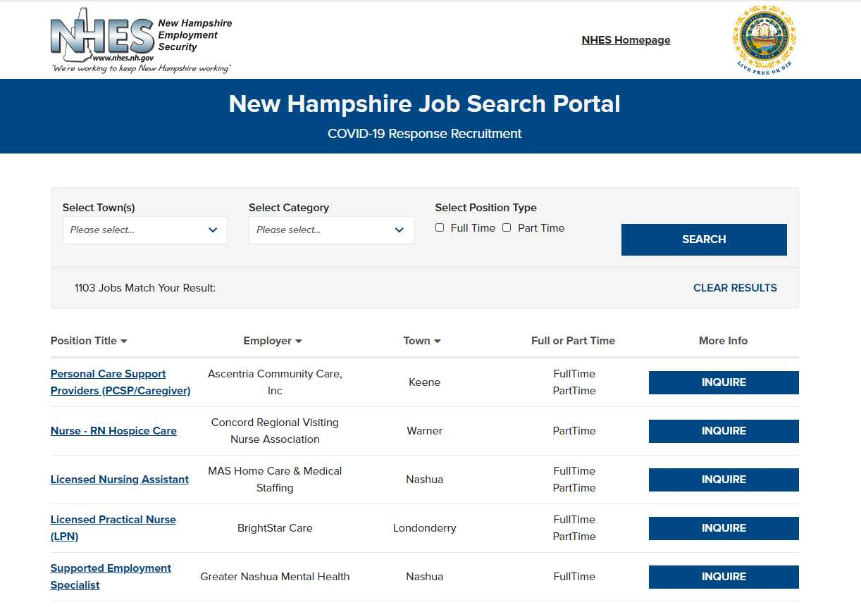 State Launches Job Search Tool