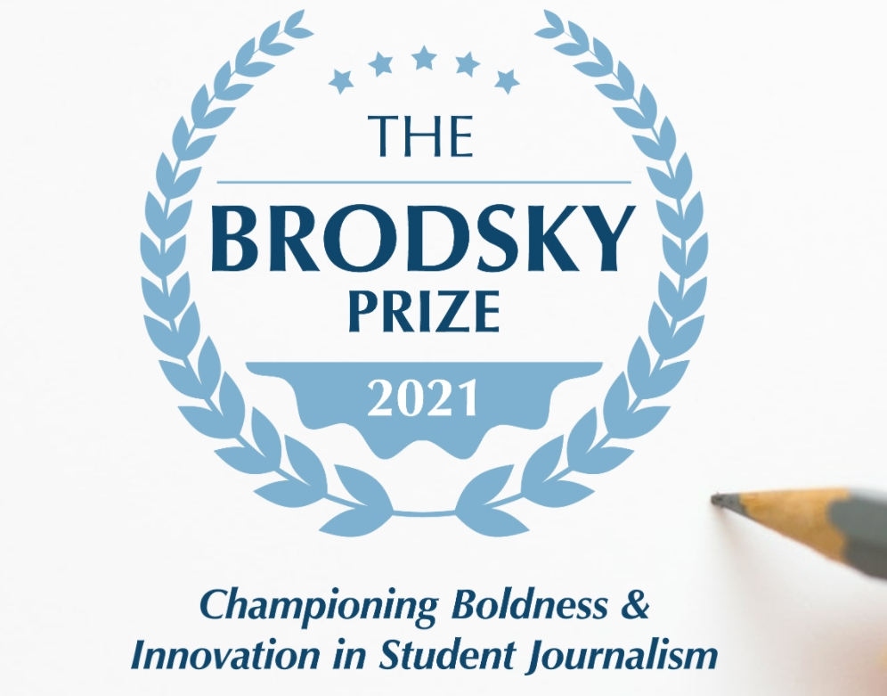 Brodsky Prize Honors Student Journalism