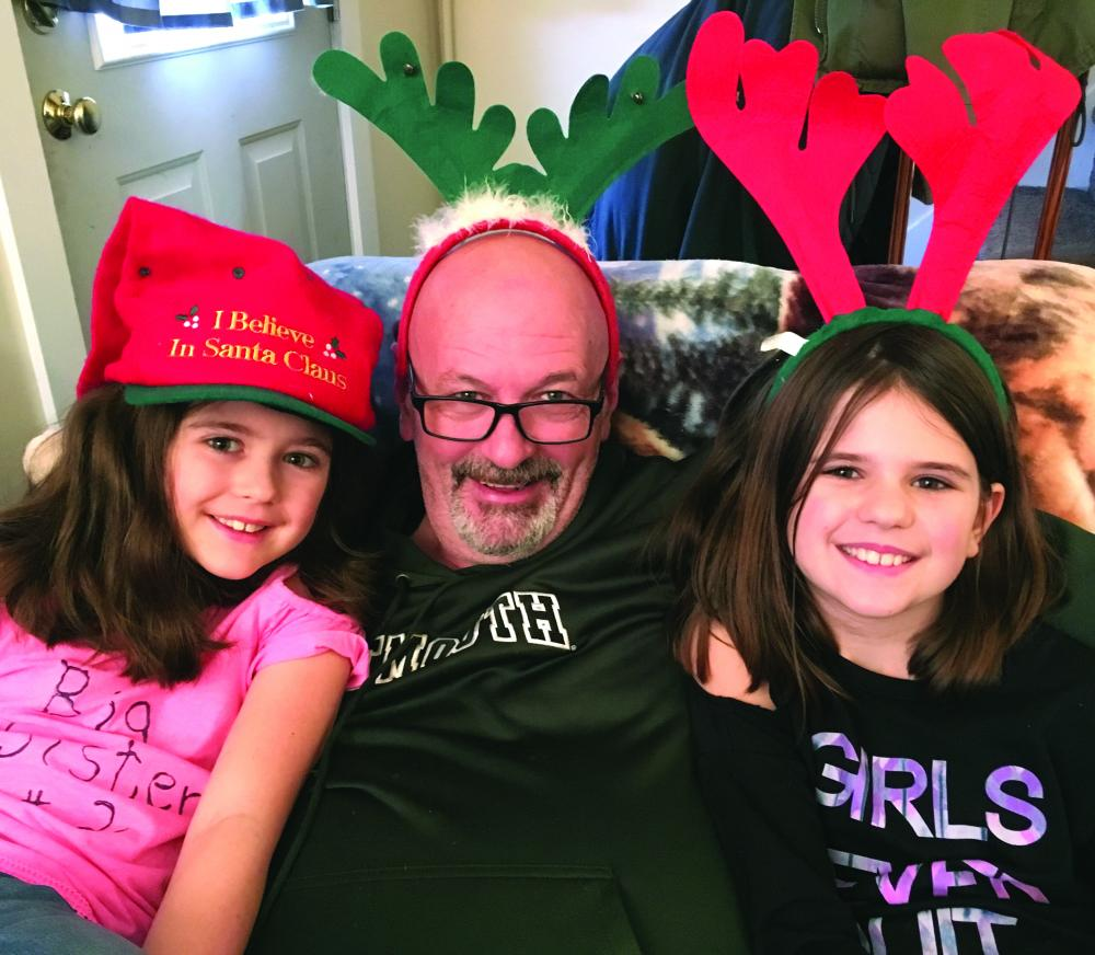 Roger Carroll's granddaughters