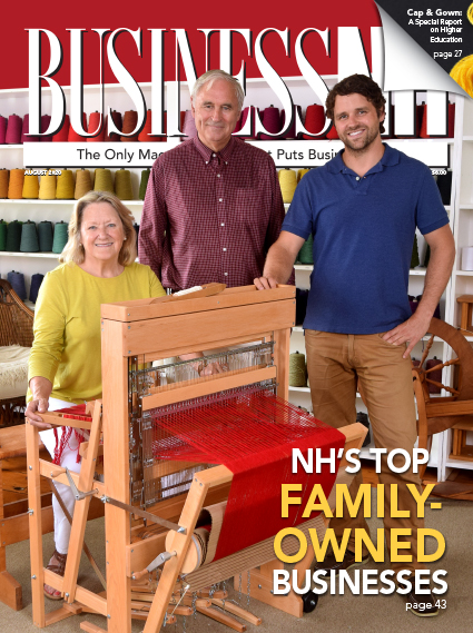 August wowo cover with Harrisville Designs