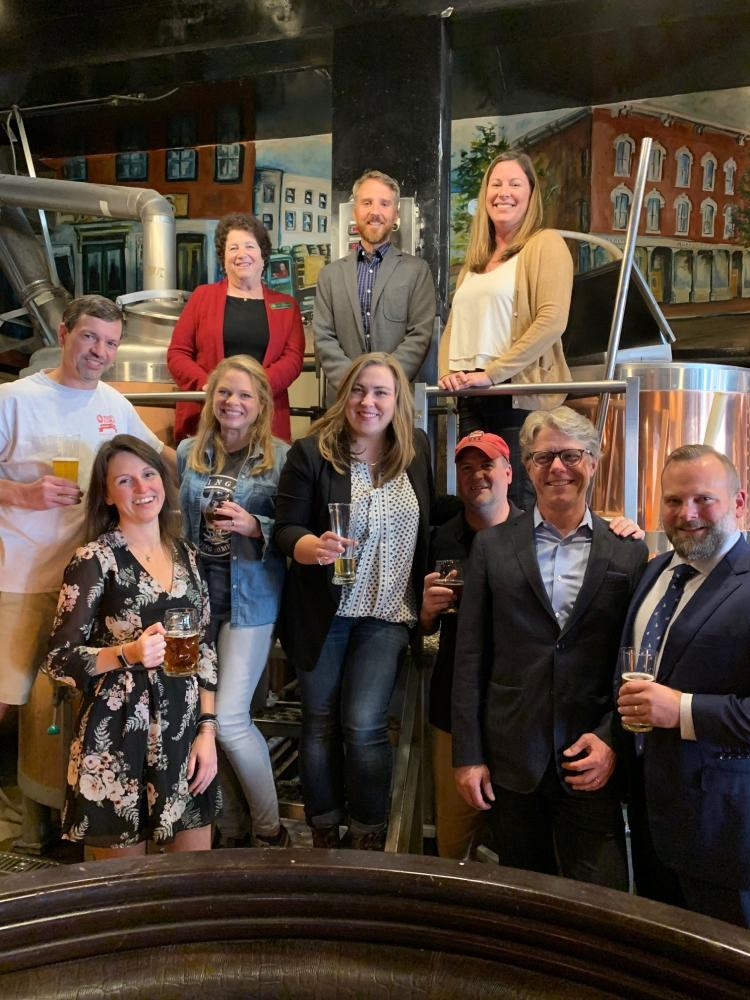 NH brewery and state officials