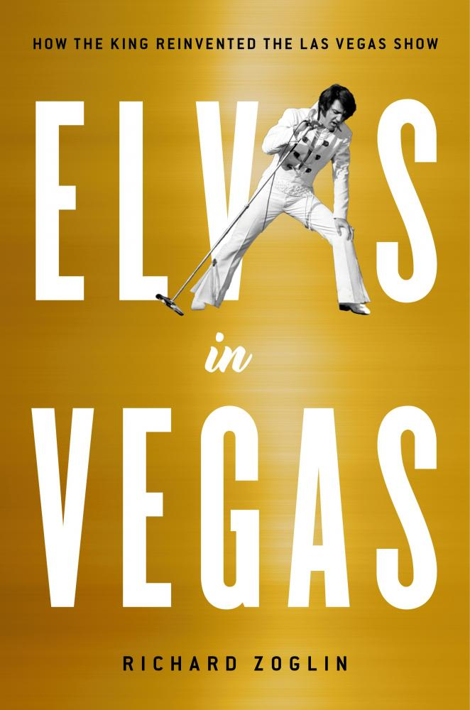 Book cover for Elvis in Vegas