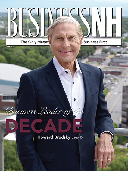 July 2020 cover of Howard Bridsky BusiNess Leader of the Decade