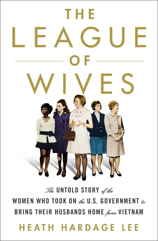 book cover for The League of Wives