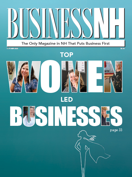 October 2020 cover top women led businesses