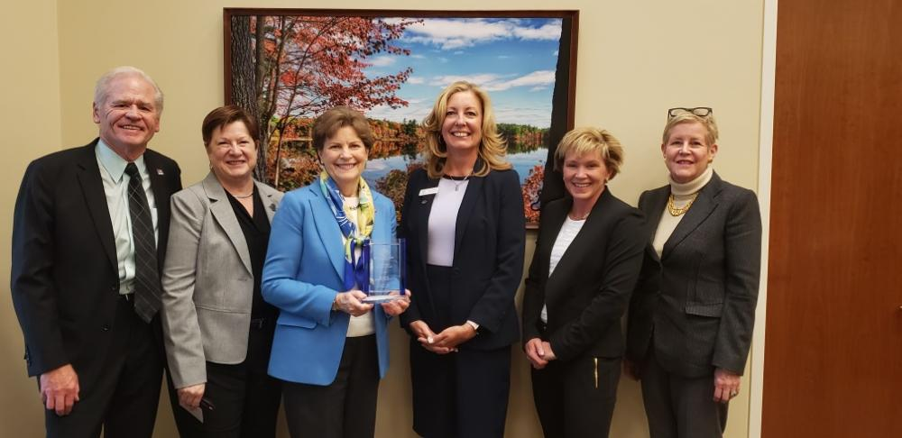 Senator Jeanne Shaheen Awarded