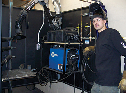 Business Nh Magazine North Country College Expands Welding Program